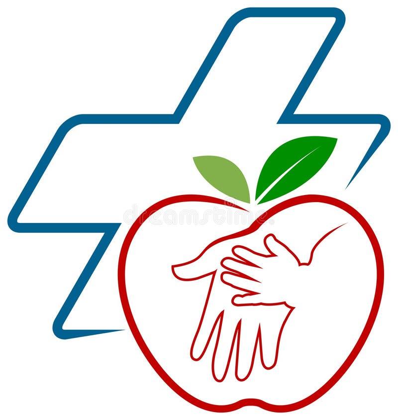 儿童和母亲医疗保健 向量例证