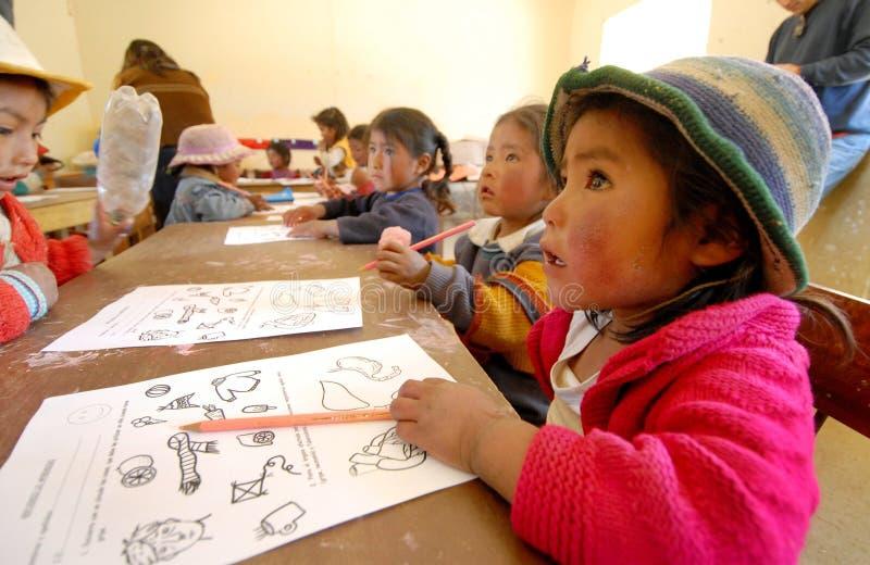 儿童学校 免版税库存照片