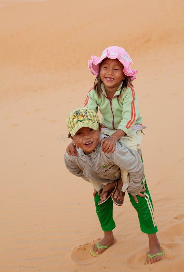 儿童局部越南语 免版税库存照片