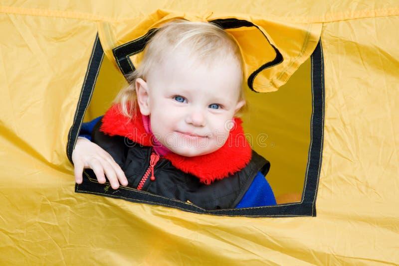 儿童帐篷 免版税库存照片