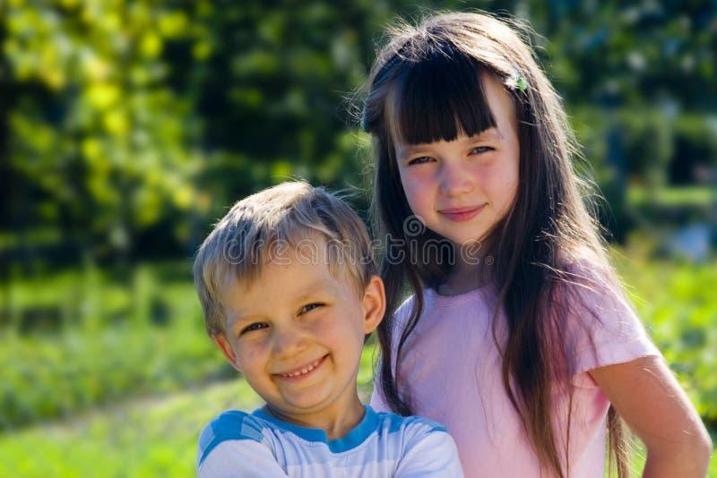 儿童庭院 免版税图库摄影