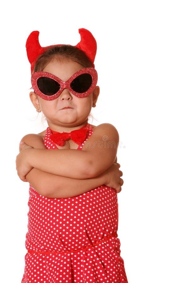 儿童恶魔 免版税库存照片