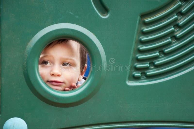 儿童操场 库存图片