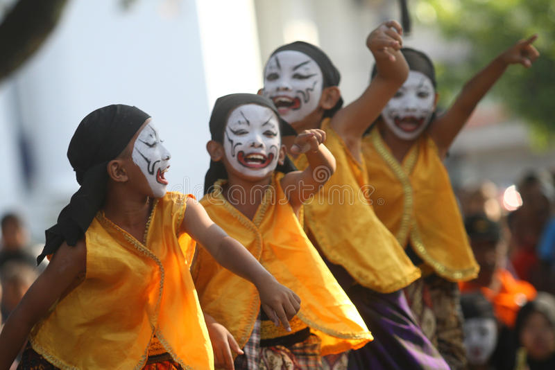 儿童文化节日 免版税库存图片