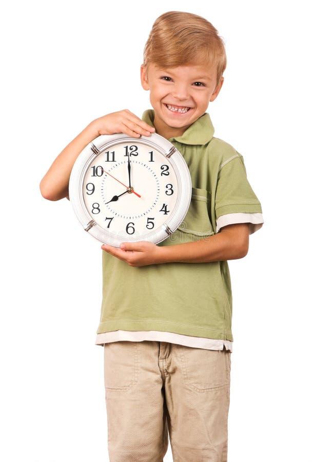 儿童时钟 免版税库存图片