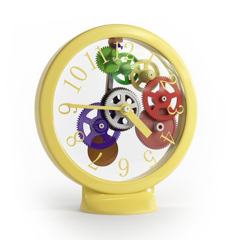 儿童时钟s 向量例证