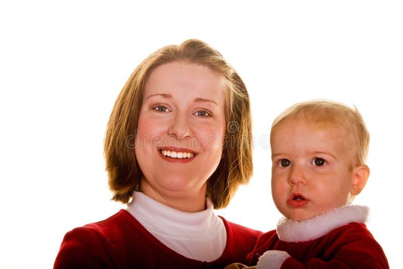 儿童母亲年轻人 图库摄影
