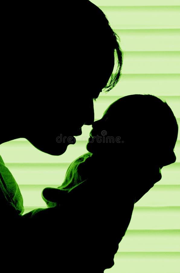 儿童母亲 库存图片