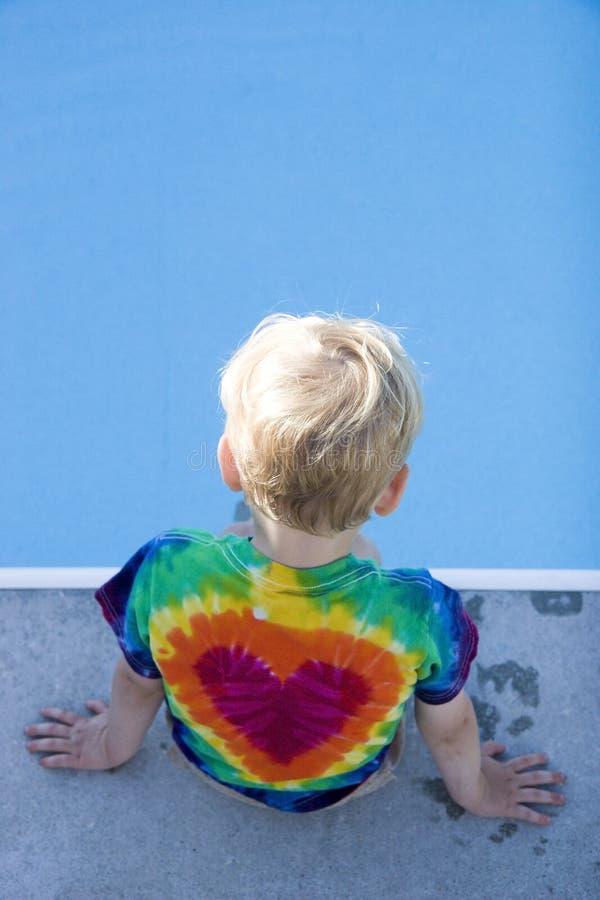 儿童池 库存图片
