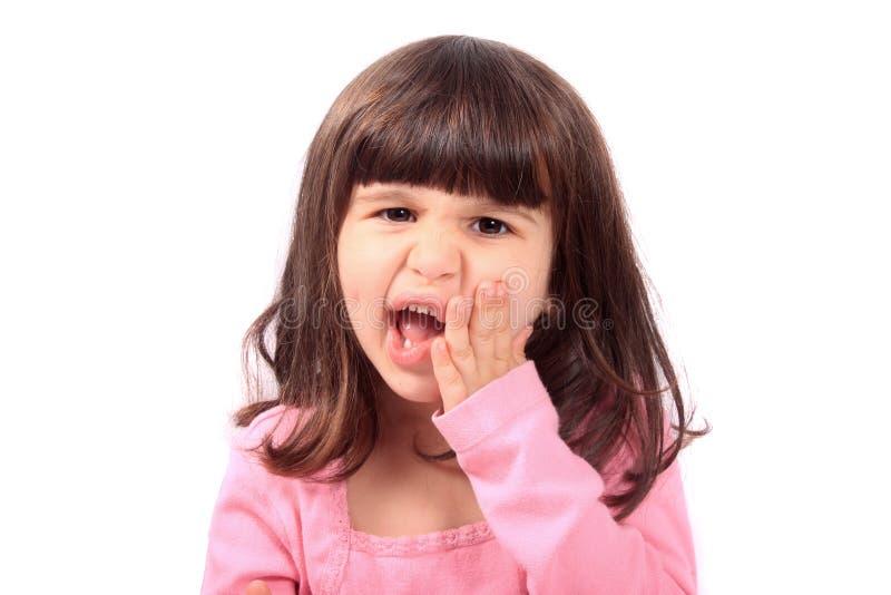 儿童牙痛 库存照片