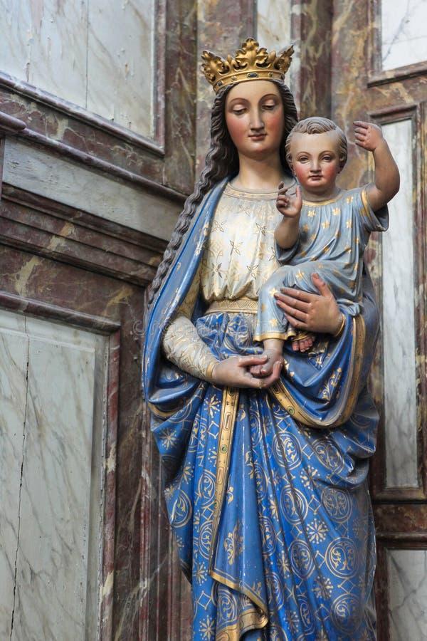 儿童玛丽母亲 图库摄影