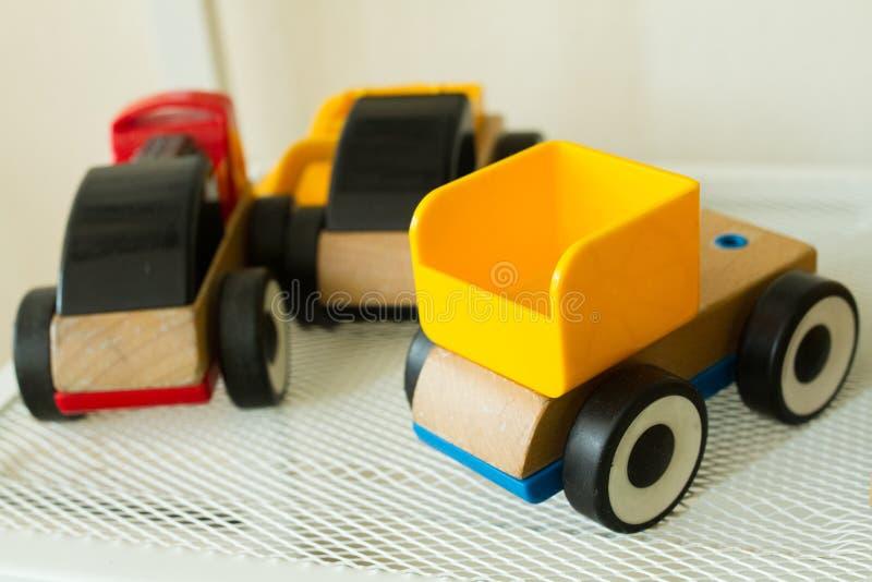 儿童玩具在shabu房子里 库存照片