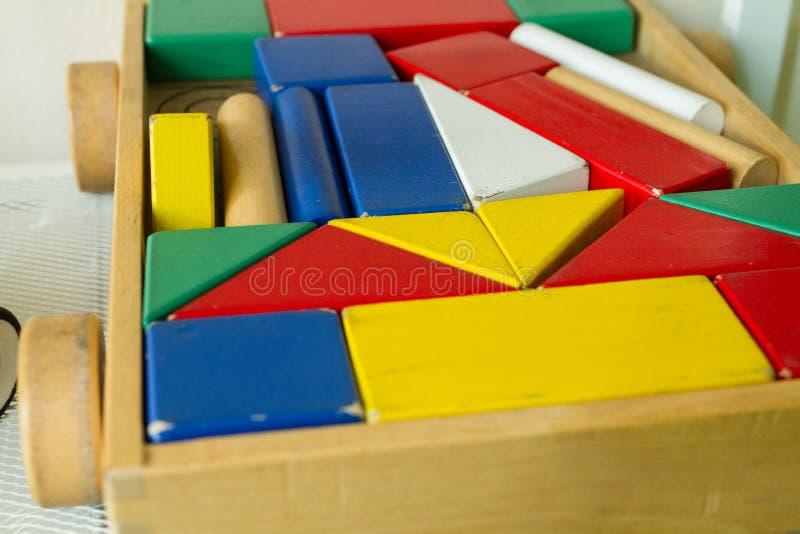 儿童玩具在shabu房子里 免版税图库摄影
