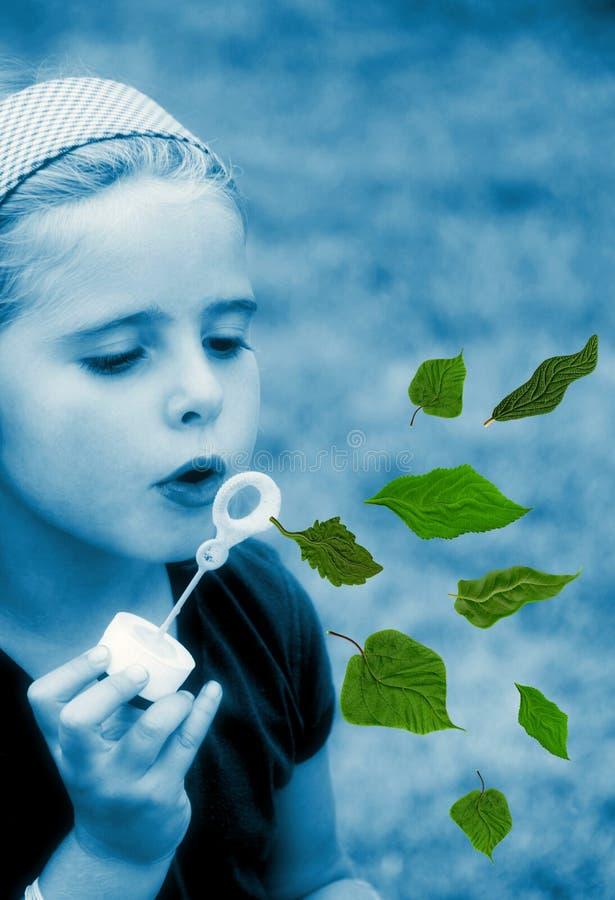 儿童生态 库存图片