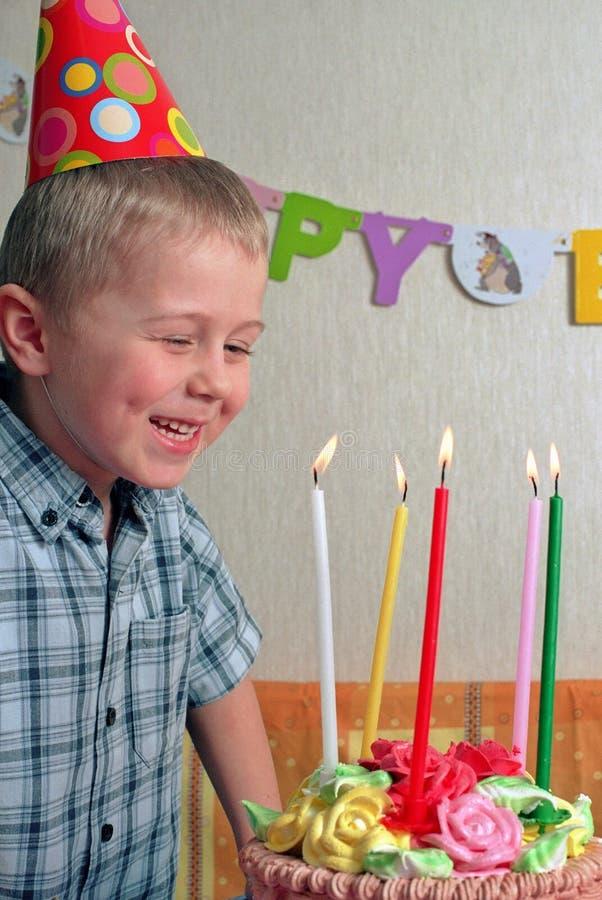 儿童生日 库存图片