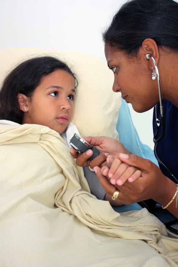 儿童病残 免版税库存图片