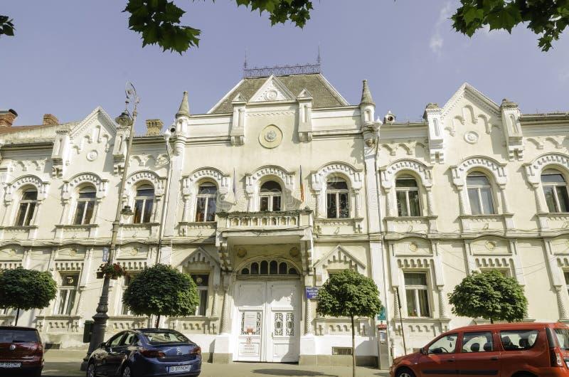 儿童的宫殿Arad 免版税库存图片