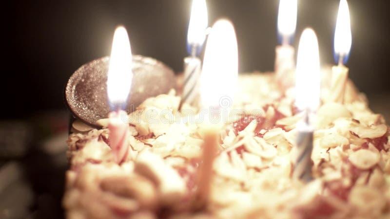 儿童的生日蛋糕 影视素材