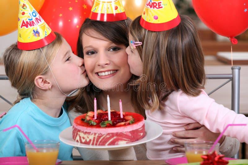 儿童的生日 免版税库存图片