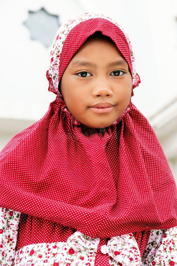 儿童穆斯林 免版税图库摄影