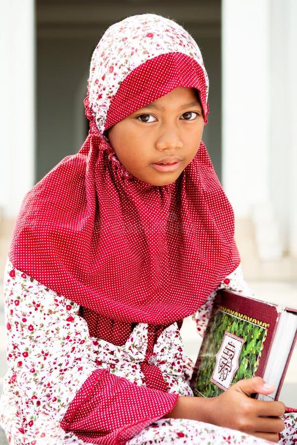 儿童穆斯林 库存照片