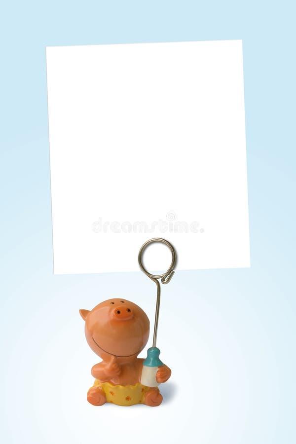 儿童空的框架照片 免版税图库摄影