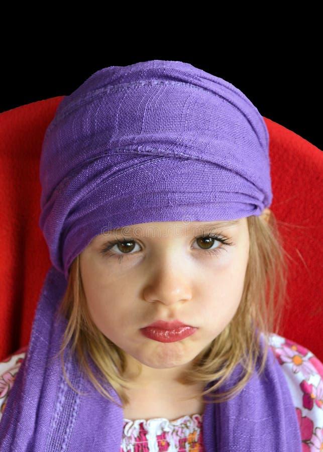 儿童纵向 免版税库存照片