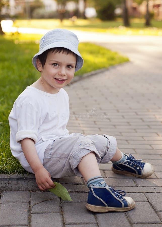 儿童纵向 图库摄影