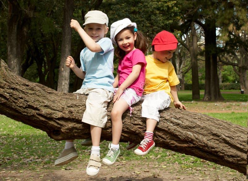 儿童组公园 库存照片