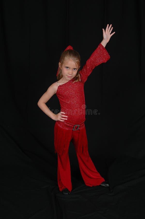 儿童舞蹈演员 免版税图库摄影