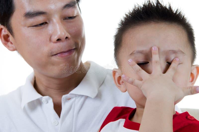 儿童表达式 免版税图库摄影
