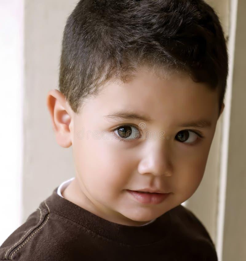 儿童讲西班牙语的美国人 免版税库存图片