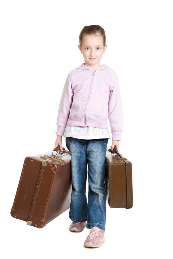 儿童逃亡 免版税库存照片