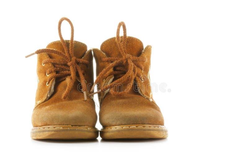 儿童鞋子 图库摄影