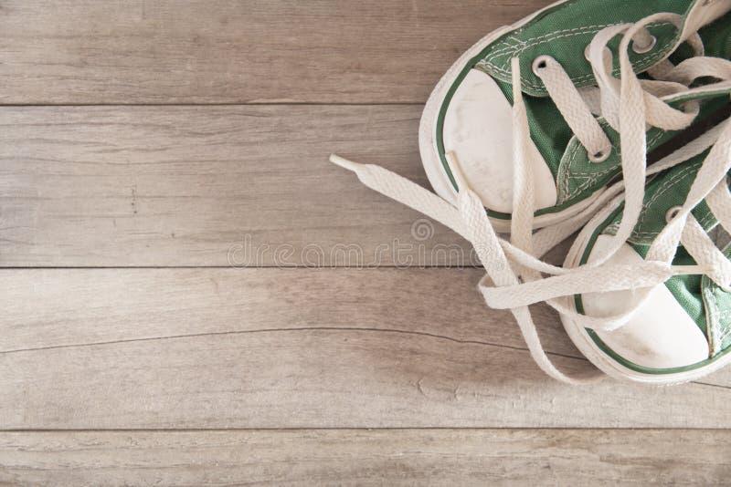 儿童鞋子 免版税图库摄影