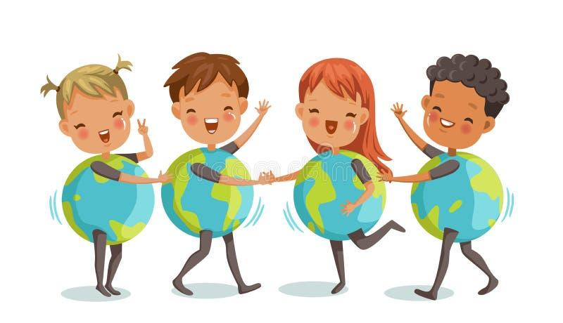 儿童` s地球 图库摄影