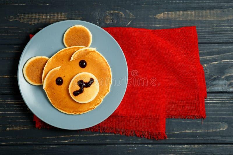 儿童` s早餐 库存照片