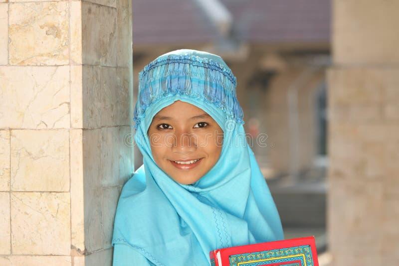 儿童eid fitr回教ul 免版税图库摄影