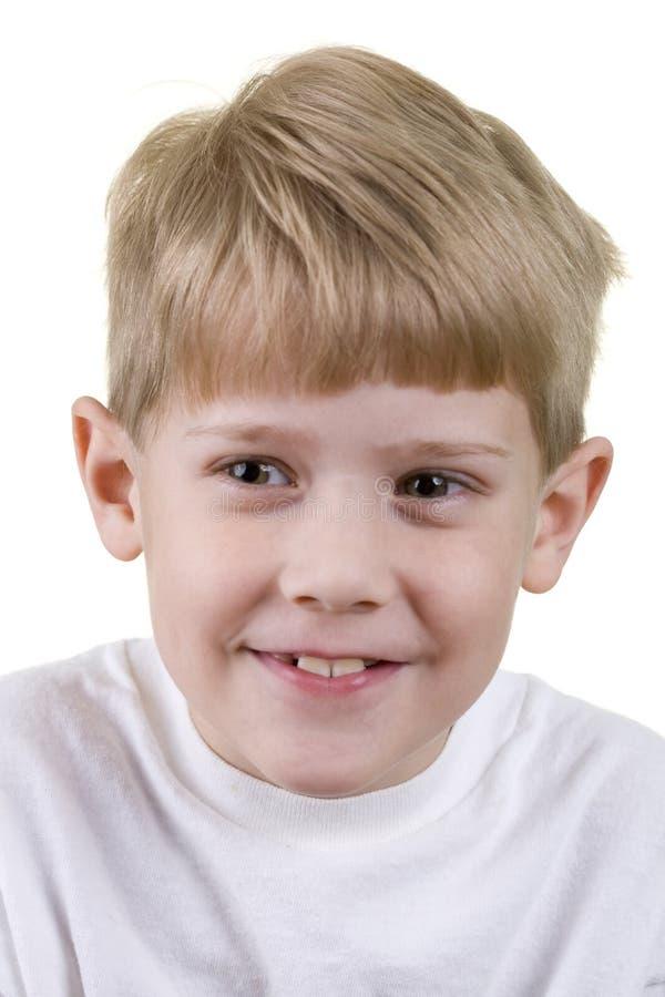 儿童headshot 免版税库存照片