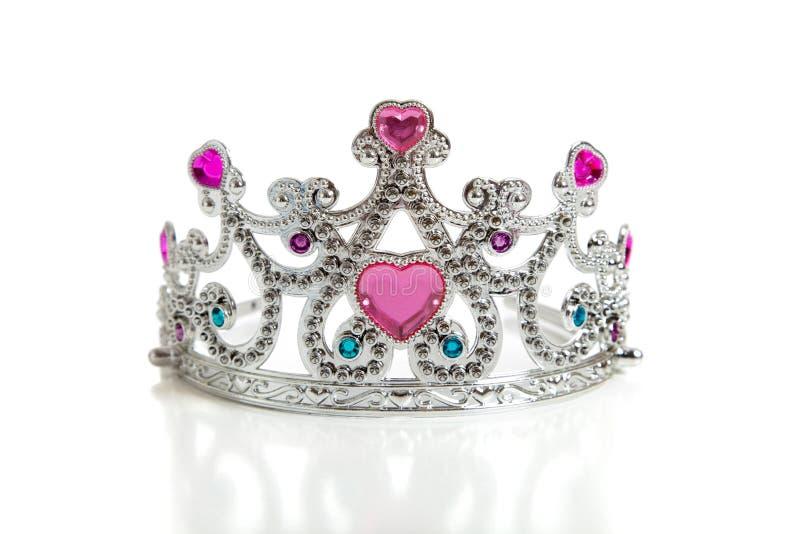 儿童s公主冠状头饰玩具 库存照片