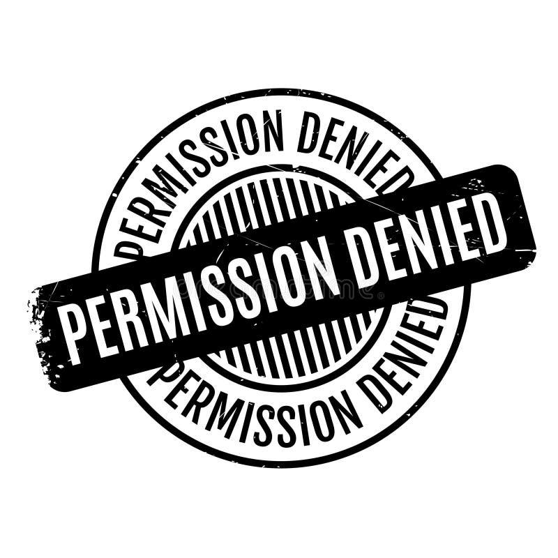 允许被否认的不加考虑表赞同的人 库存例证