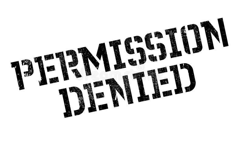 允许被否认的不加考虑表赞同的人 向量例证