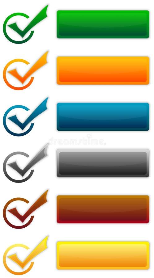 元素集向量 库存图片