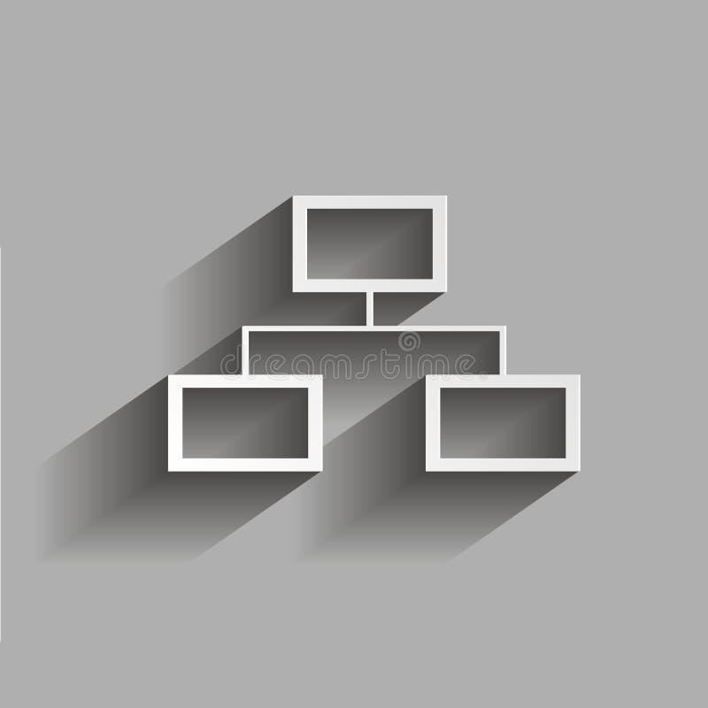 元素树结构的矢量图象  例证w 库存例证