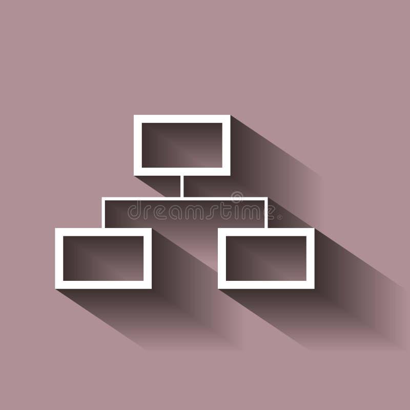 元素树结构的矢量图象  例证w 皇族释放例证