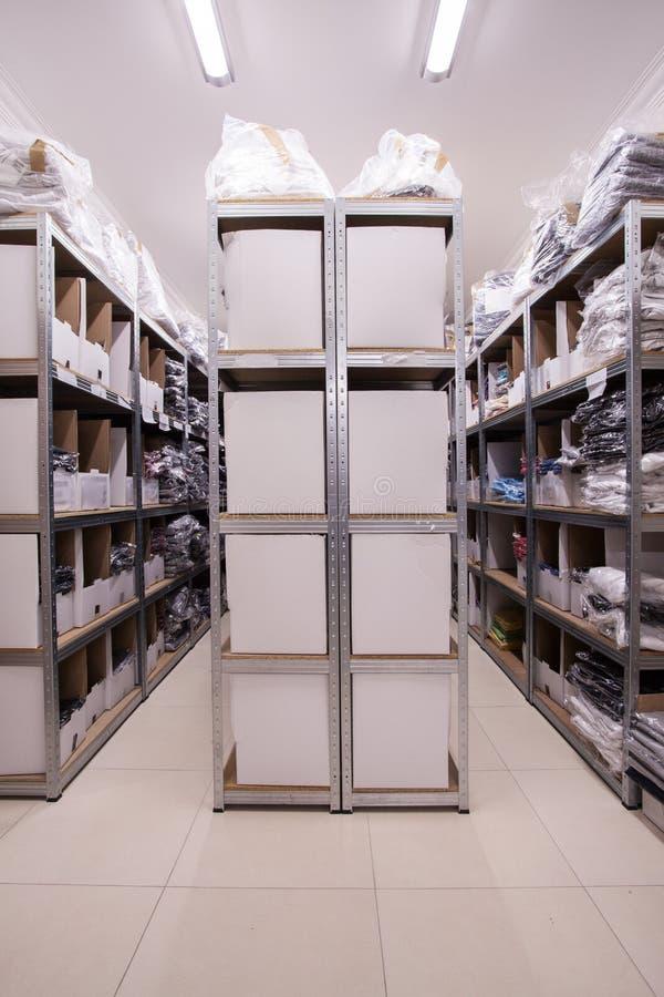 充分巨大的商店文件夹 免版税库存图片