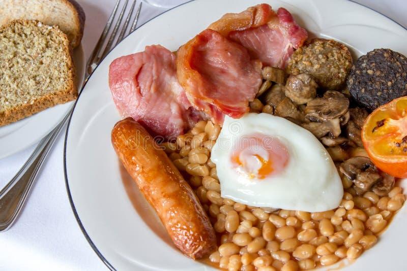 充分早餐爱尔兰语 免版税库存图片