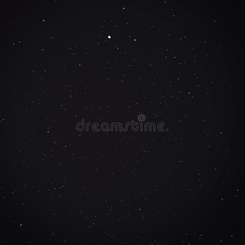 充分的天空星形 库存照片