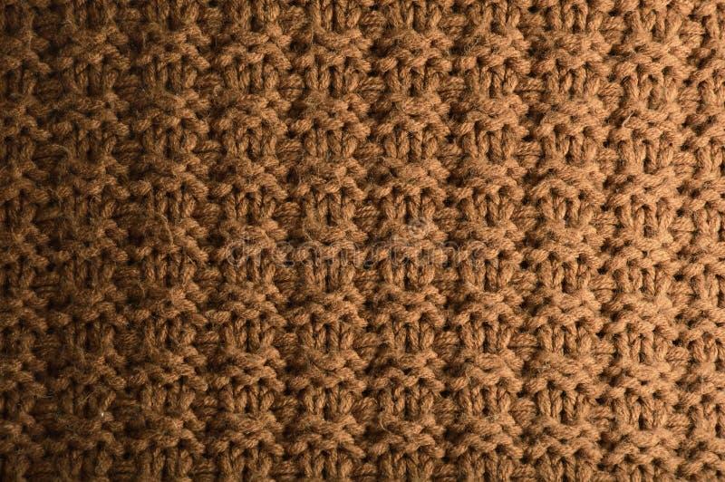 充分的框架棉纺织品纹理 免版税库存照片