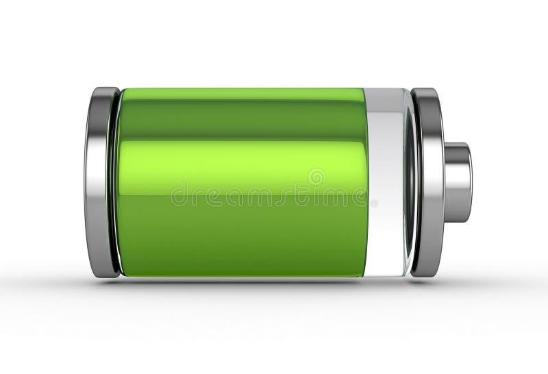 充分的电池 向量例证